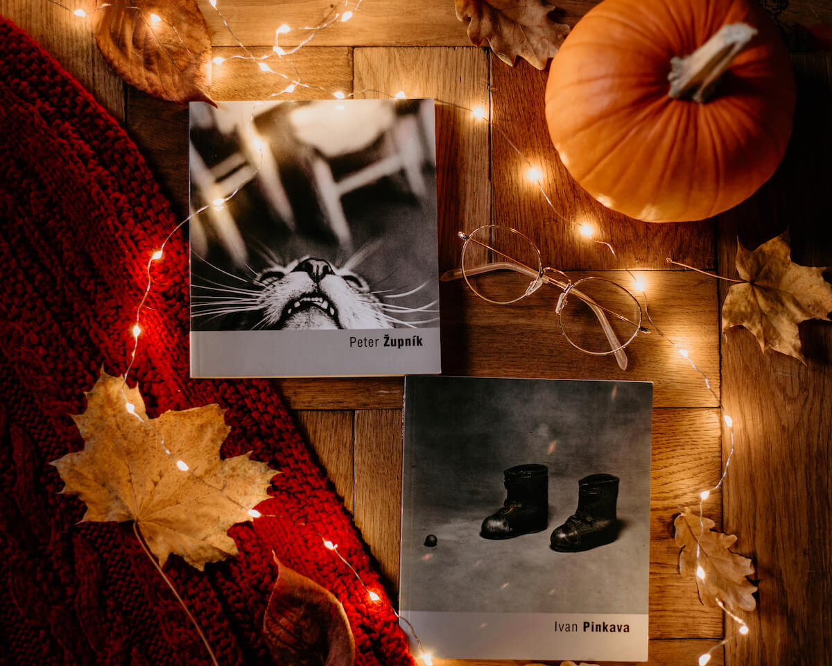 Najlepsze książki o fotografii - Moje pierwsze albumy zakupione w jednej z księgarni w Pradze - Peter Zupnik i Ivan Pinkava.